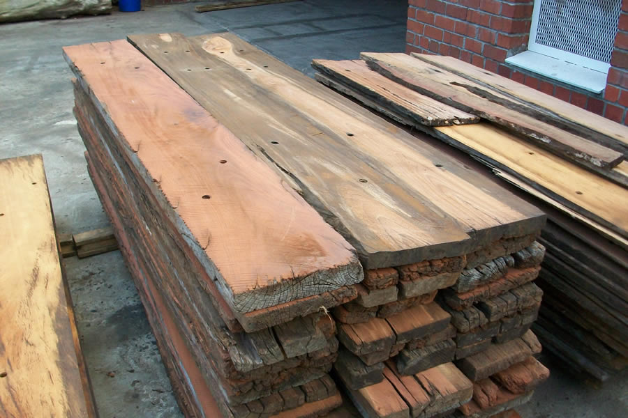 Railway Sleeper Planks